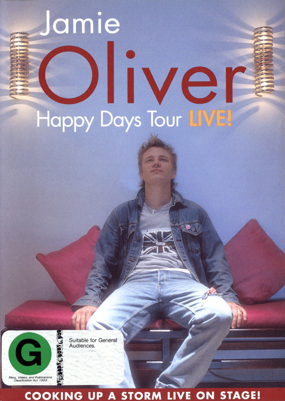 Jamie Oliver Happy Days Tour - Live! on DVD