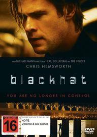 Blackhat on DVD