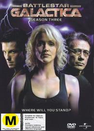 Battlestar Galactica - Season 3 on DVD