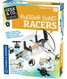 Geek & Co: Rubber Band Racers - Project Kit
