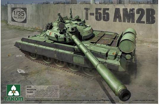 Takom: 1/35 DDR Medium Tank T-55 AM2B Model Kit