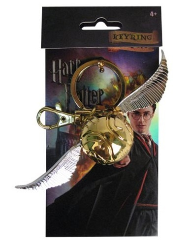 Harry Potter: Golden Snitch - Pewter Key Chain image
