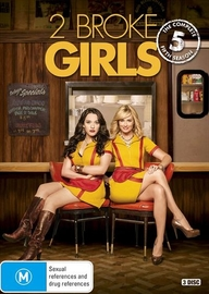 2 Broke Girls - The Complete Fifth Season on DVD