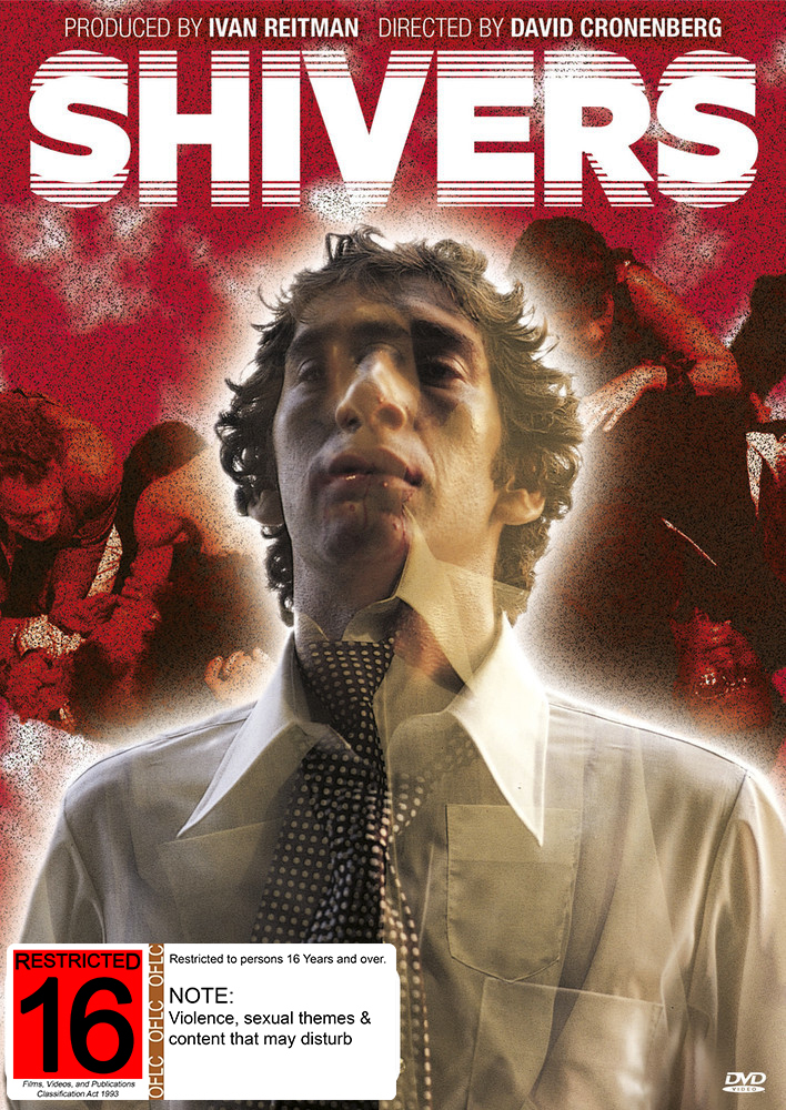 Shivers on DVD image