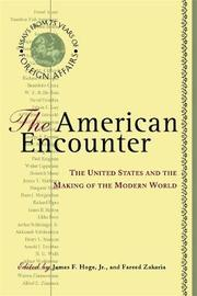 The American Encounter by Fareed Zakaria