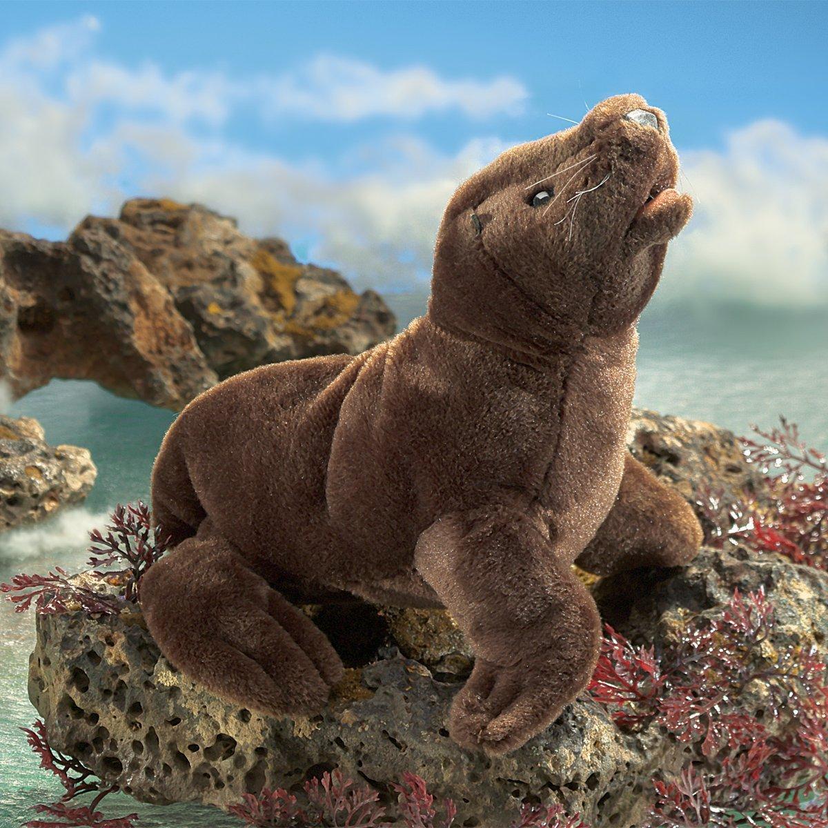 Folkmanis Hand Puppet - Sea Lion Pup image