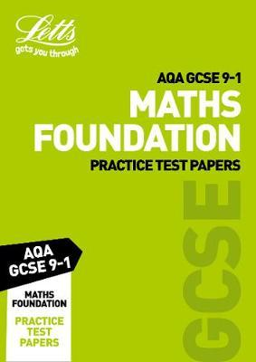AQA GCSE 9-1 Maths Foundation Practice Test Papers by Collins image