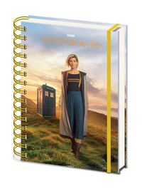 Doctor Who Wiro A5 Notebook - 13th Doctor