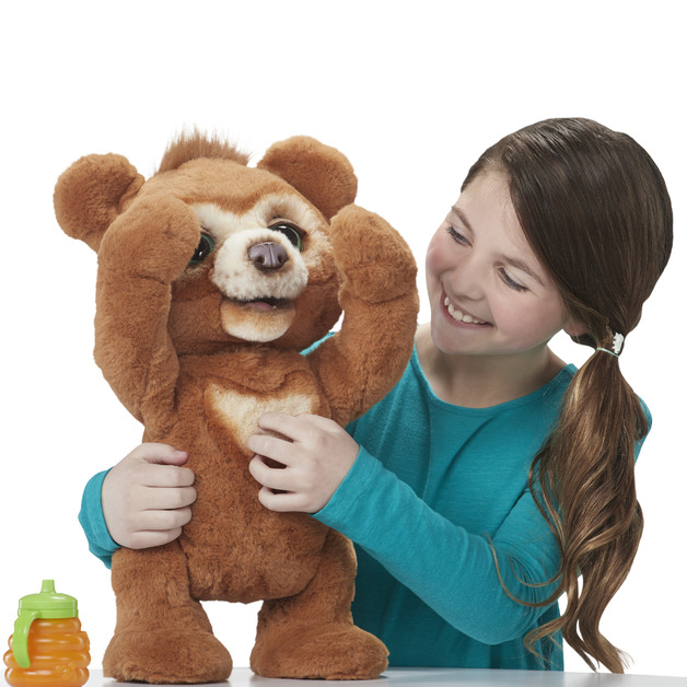 FurReal Friends: Cubby The Curious Bear - Interactive Plush