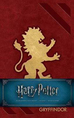 Harry Potter: Hardcover Ruled Journal - Gryffindor
