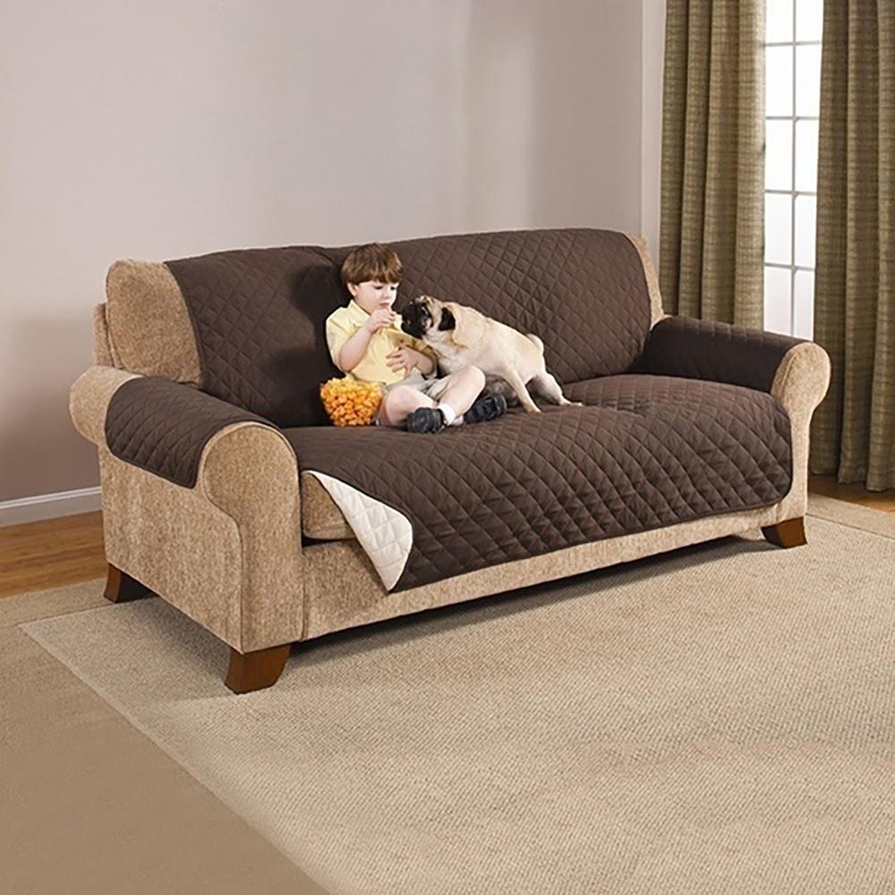 Ape Basics: Wear-Resistant Pet Sofa Cushion Cover Large image