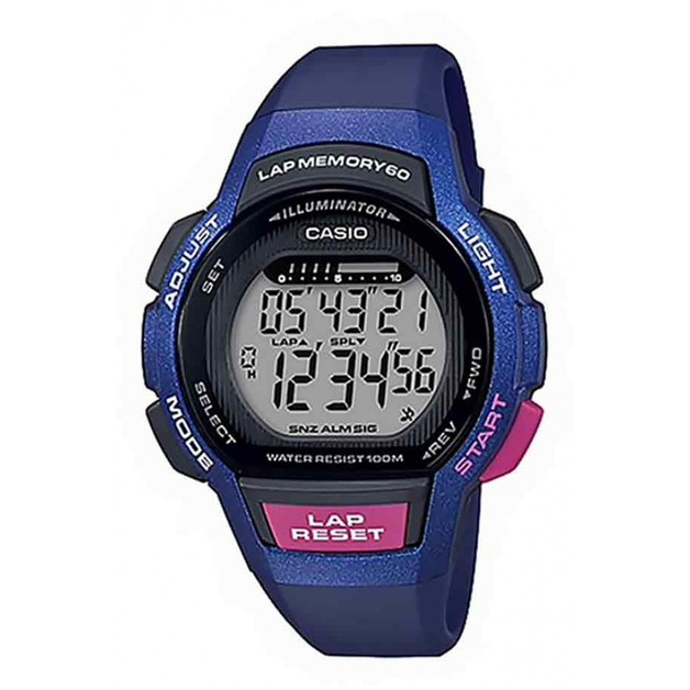 LWS1000H-2A Casio 60 Lap Memory Runners Watch