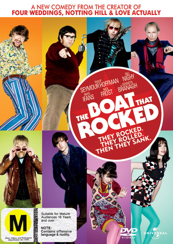 The Boat that Rocked on DVD