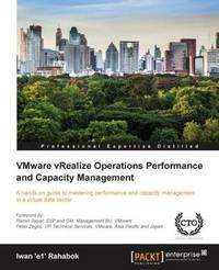 VMware vRealize Operations Performance and Capacity Management by Iwan Rahabok image