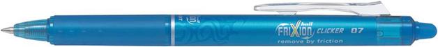 Pilot FriXion Clicker Gel Pen Light Blue