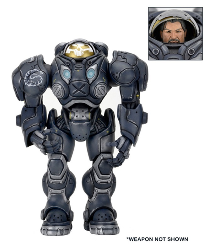 "Heroes of the Storm: Raynor 7"" Action Figure image"