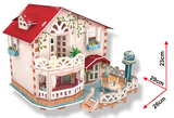 3D Dollhouse - Holiday Bungalow