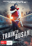 Train to Busan on DVD