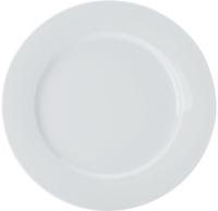 Casa Domani Casual White Rim Dinner Plate 27cm