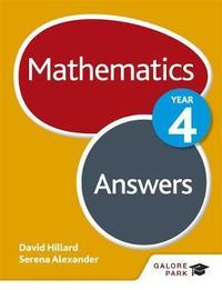 Mathematics Year 4 Answers by David Hillard image