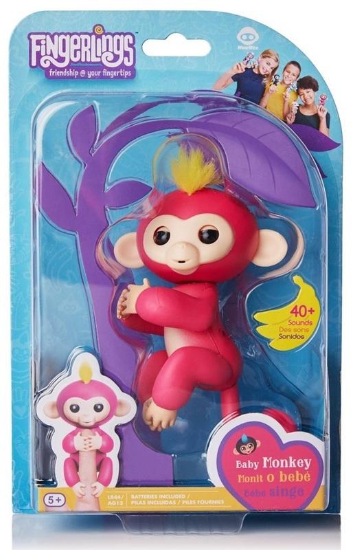 Fingerlings: Interactive Baby Monkey - Bella