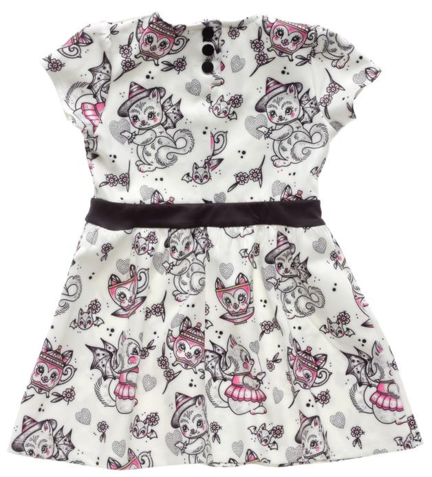 Sourpuss Creep Heart Dress (Size 6)