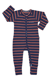 Bonds Ribby Zippy Wondersuit - Arizona Sunset/Double Denim (6-12 Months)