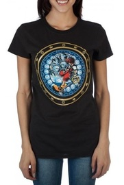 Kingdom Hearts Logo - Juniors T-Shirt (Large)