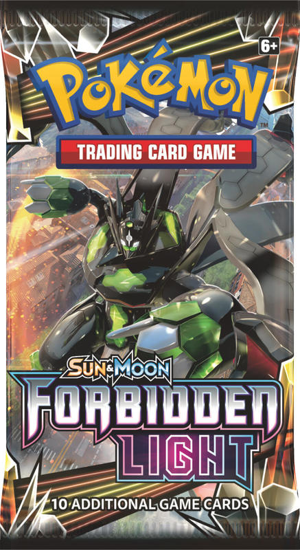 Pokemon TCG: Forbidden Light - Single Booster (10 Cards)