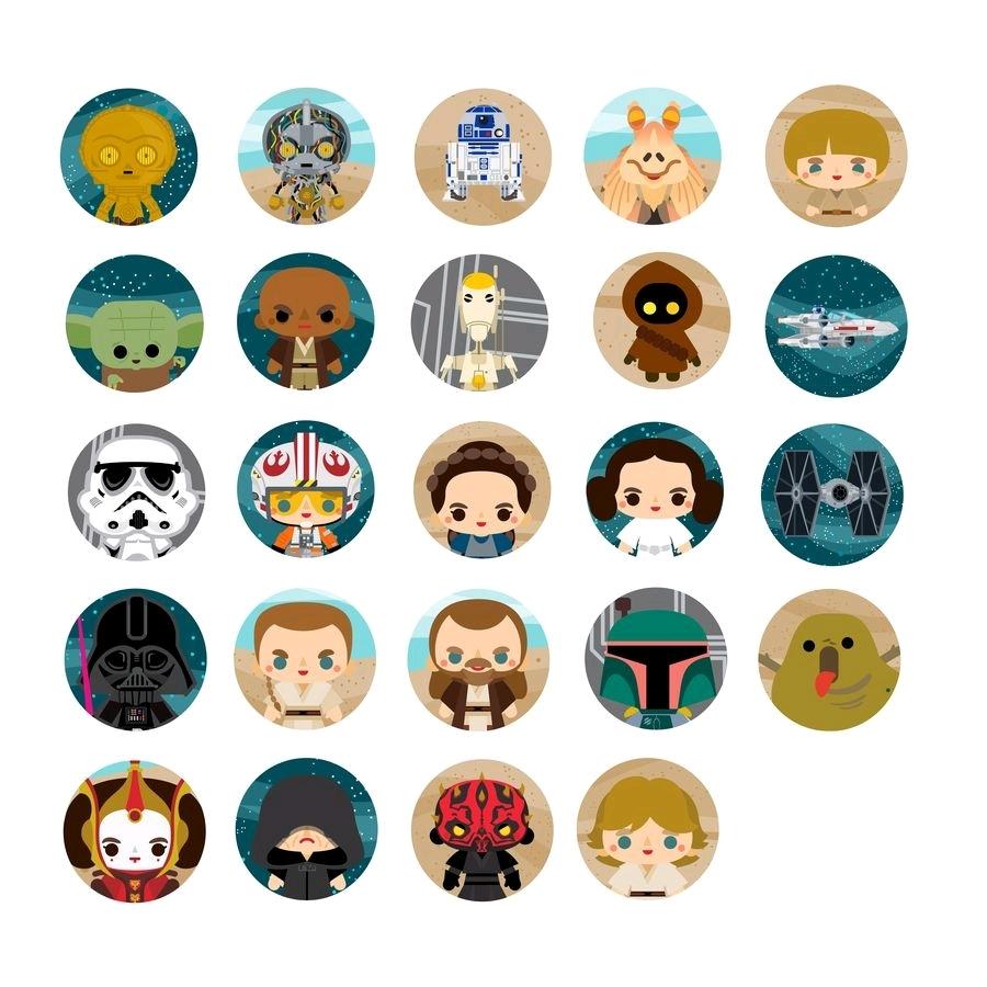 Loungefly: Star Wars - Chibi Pins (Series 4) image