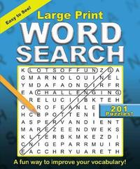 Large Print Word Search by Editors Of Portable Press