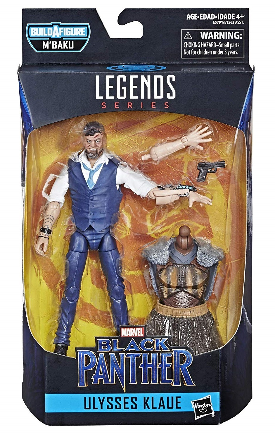 "Marvel Legends: Ulysses Klaue - 6"" Action Figure image"
