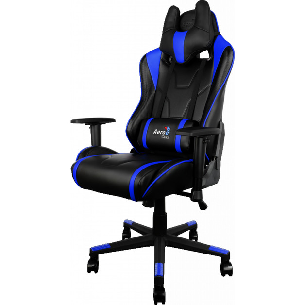 Aerocool: AC220 Series Gaming Chair - Black/Blue for