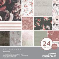"Kaisercraft: Paper Pad 6.5"" x 6.5"" - Rosabella"