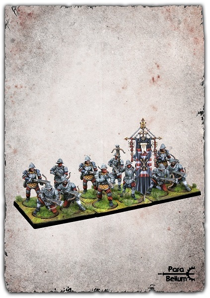 Conquest: Hundred Kingdoms Mercenary Crossbowmen