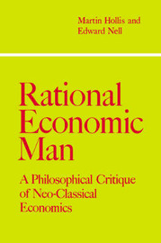Rational Economic Man by Martin Hollis image