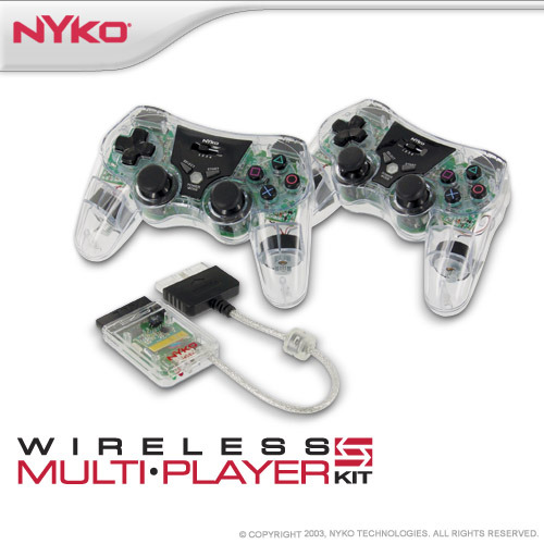 Nyko Wireless Multi-Player Kit for PlayStation 2
