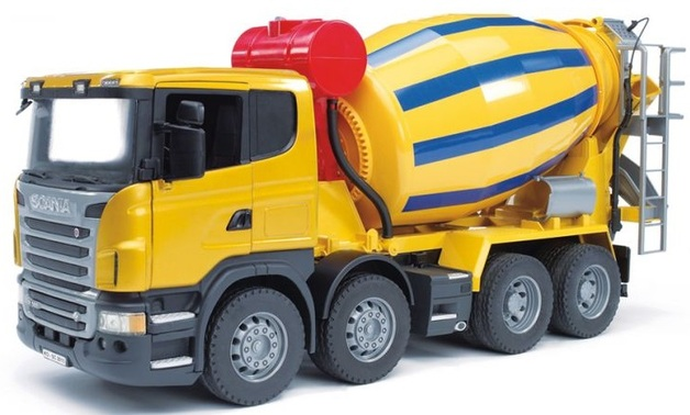 Bruder Scania Cement Mixer