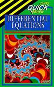 CliffsQuickReview Differential Equations by Steven A Leduc