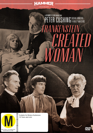 Hammer Horror - Frankenstein Created Woman on DVD