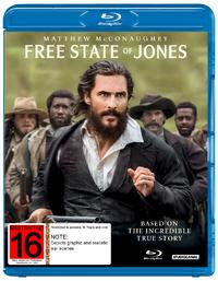 Free State of Jones on Blu-ray