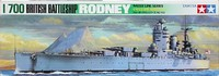 Tamiya 1/700 British Rodney Battleship - Model Kit