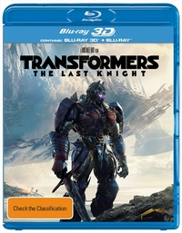 Transformers: The Last Knight DVD