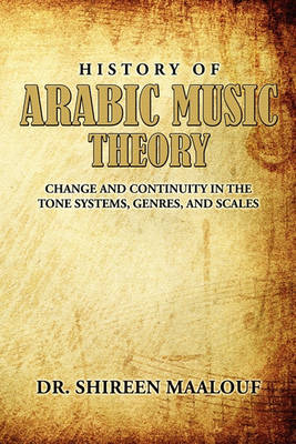 History of Arabic Music Theory | Shireen Maalouf Book | Buy Now | at
