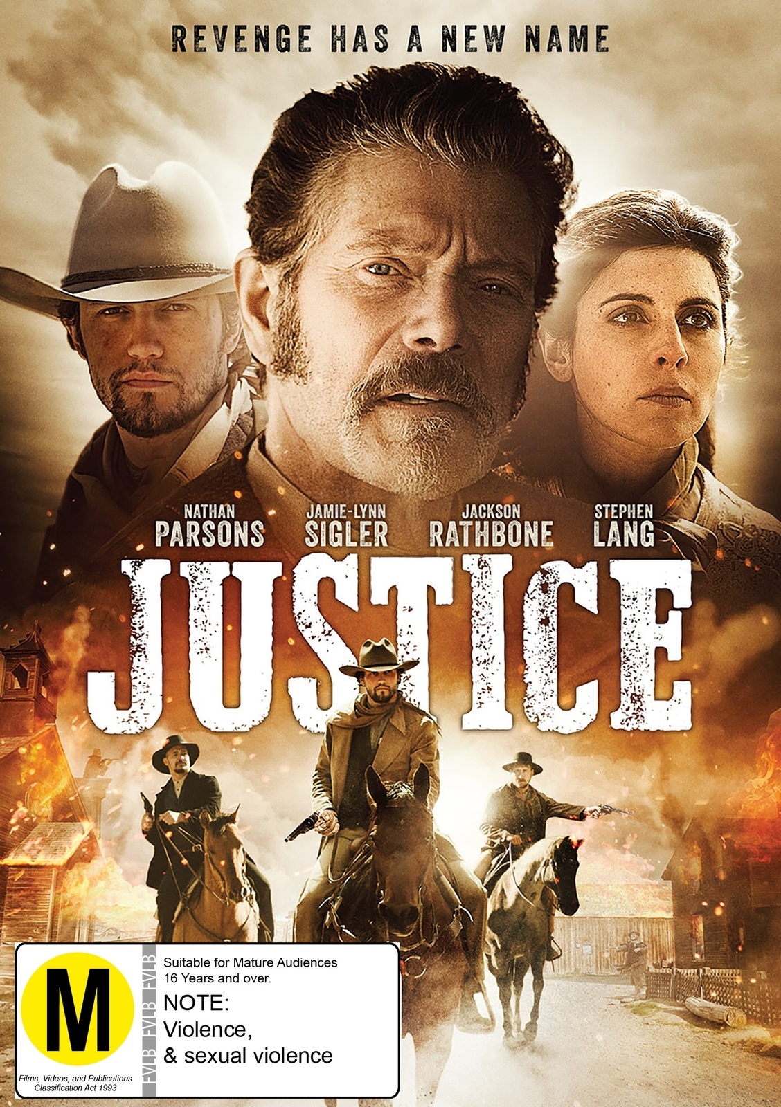 Justice on DVD image