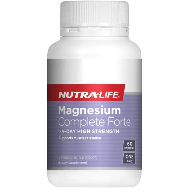 Nutra Life: Magnesium Complete Forte Caps (60s)