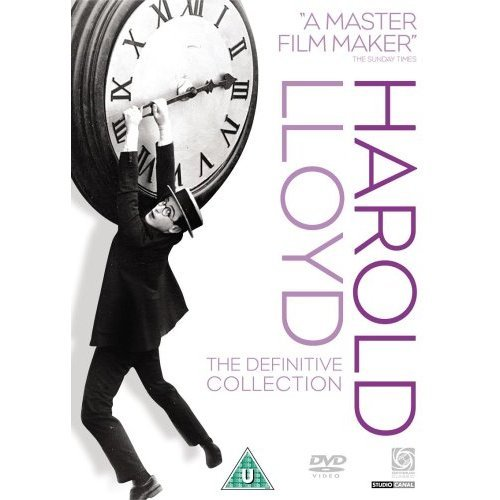 Harold Lloyd - The Definitive Collection (9 Disc Set) on DVD