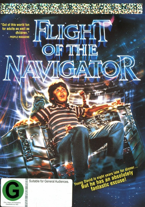 Flight Of The Navigator on DVD