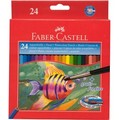 Faber-Castell Watercolour: Coloured Pencils - Pack of 24