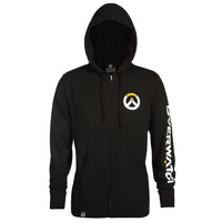 Overwatch Logo Zip-up Hoodie (XXL)